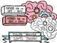 Growth Mindset pt 2 Digital Clip Art Set- Color and Black Line COMBO