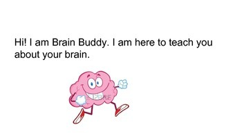 Brain and Mindset story about learning and making mistakes/Brain Buddy