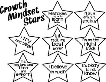 Growth Mindset stars