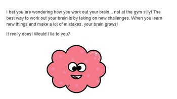 Defining Mindset Growth & discussion questions for primary students