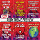 Growth Mindset, the Law of Attraction & Creation, POSITIVE AFFIRMATIONS POSTERS