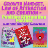 Growth Mindset, the Law of Attraction & Creation, POSITIVE