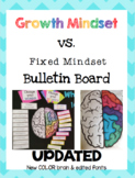 Growth Mindset vs. Fixed Mindset Bulletin Board ***UPDATED***