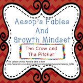 Growth Mindset with Aesop's Fables - The Crow and the Pitcher