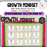 Growth Mindset with Articulation Sounds {Interchangeable B