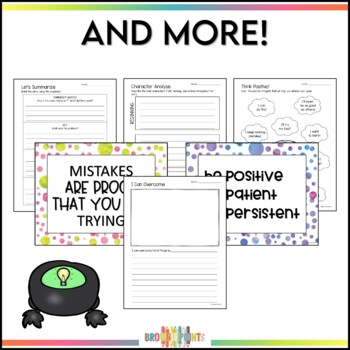 Growth Mindset with Ashley Spires Books