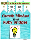 Growth Mindset with Ruby Bridges Digital and Printable Versions