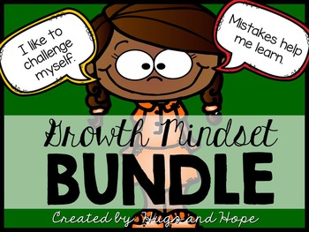 EDITABLE Growth Mindset Posters (w/Student Printables)