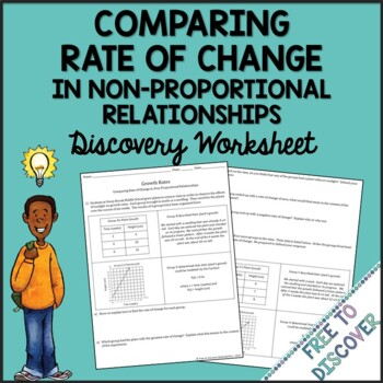 Rate of Change Discovery Worksheet (Non-Proportional)