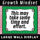Growth VS Fixed Mindset Wall Display Posters