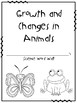 Growth and Change in Animals - Personal Word Wall