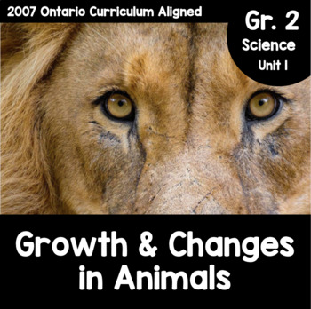 {Grade 2} Growth and Changes in Animals