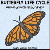 Butterfly Life Cycle | Growth and Changes in Animals | ELA and Math Unit