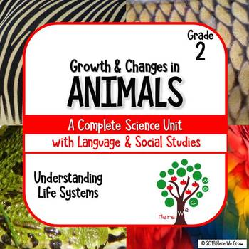 Growth and Changes in Animals: aligned to Ontario grade 2 curriculum