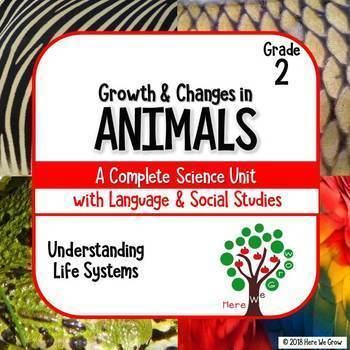 Growth and Changes in Animals: Integrated Math & Science