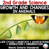 Growth and Changes in Animals Grade 2 Science