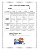 Growth and Changes in Animals Rubric