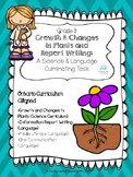 Growth and Changes in Plants (Science) & Report Writing Culminating Task