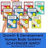 Growth and Development Scavenger Hunt Bundle