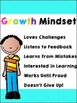Growth and Fixed Mindset Posters