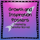 Growth and Inspiration Posters for Classroom Decor