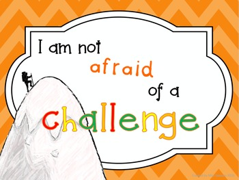 Growth mindset questionnaire and display posters