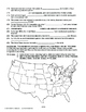 Growth of Industry AMERICAN HISTORY LESSON 100 of 150 Map