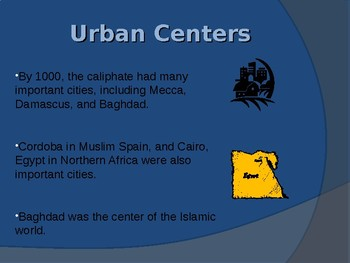 Growth of Muslim Cities and Trade - Islam Unit