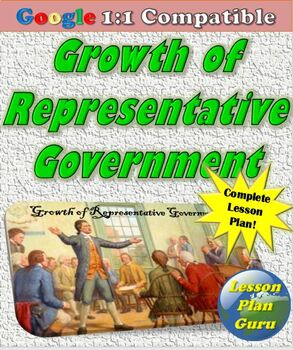 Growth of Representative Government Lesson Plan