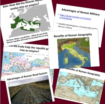 Growth of Rome: Republic becomes Empire - Lesson Plan and Powerpoint