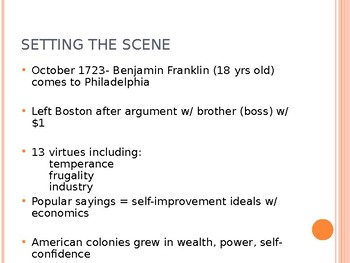 Growth of the American Colonies: Life in Colonial America