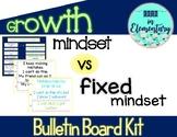 Growth vs Fixed Mindset Bulletin Board Kit