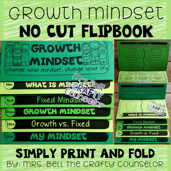 Growth vs. Fixed Mindset Flipbook