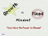 Growth vs Fixed Mindset Lesson