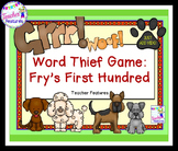 Fry Sight Word (The first 200) & High Frequency Word Game
