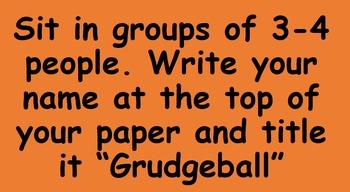 Grudgeball Polynomials Class Activity