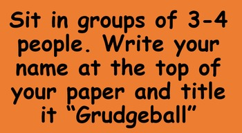 Grudgeball Polynomials Class Activity
