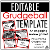 Grudgeball Template | EDITABLE