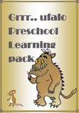 Grrr...uffalo themed preschool math and english resources pack.