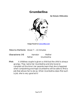 Grumbelina - Small Group Reader's Theater