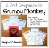 DIGITAL & PRINT - Grumpy Monkey Book Companion Activities