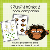 Grumpy Monkey Book Companion | Distance Learning for Speec