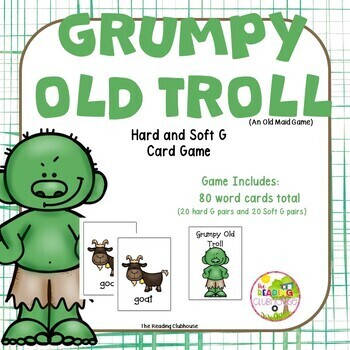 Grumpy Old Troll - Hard and Soft G Game