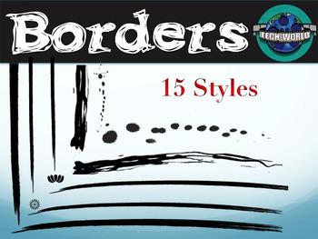 Grunge Border Package