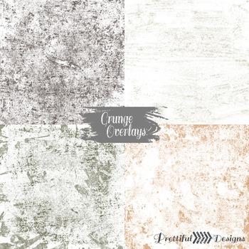 Grunge Overlay Textures
