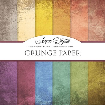 Grunge Textures Background Digital Paper scrapbook worn grungy shabby weathered