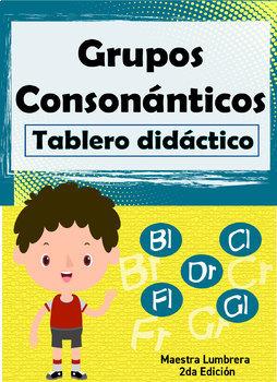 Grupos Consonánticos: Tablero didáctico