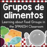 Grupos de Alimentos: Food Groups Posters & Sorting Activity SPANISH
