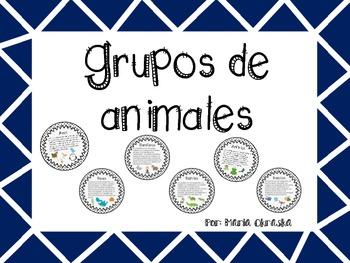Grupos de animales