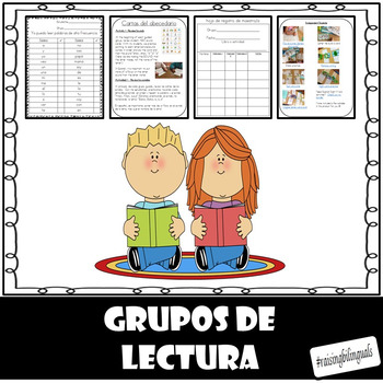 Grupos de lectura guiada (Spanish Guided Reading Groups)